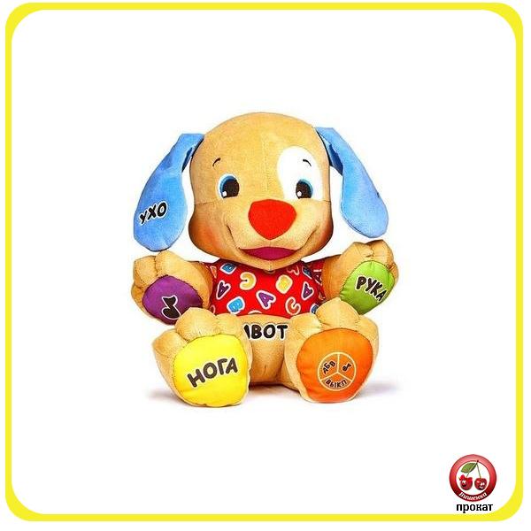 Прокат и аренда детской игрушки Ученый щенок Fisher Price в СПб