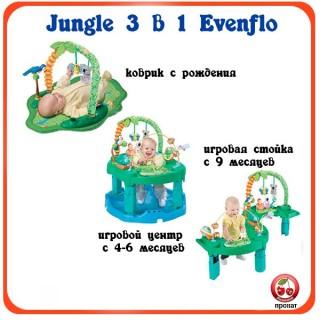 Прокат и аренда Игровой центр Jungle Evenflo в СПб для детей