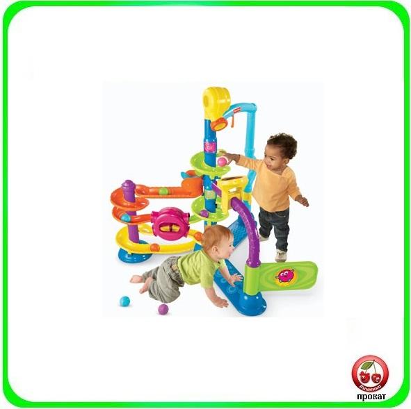 Прокат и аренда Игровой центр Fisher-Price Ballapalooza в СПб для детей