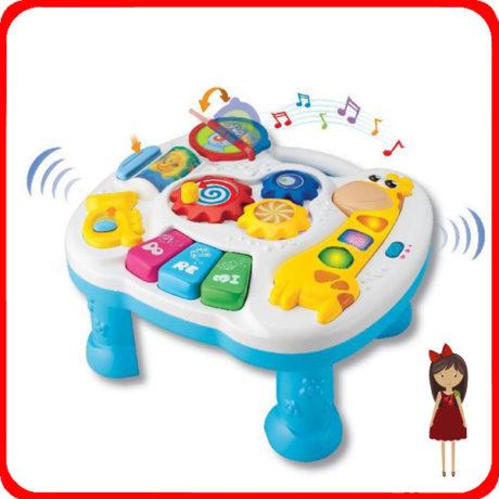 Прокат и аренда Игровой музыкальный столик Жираф в СПб для детей